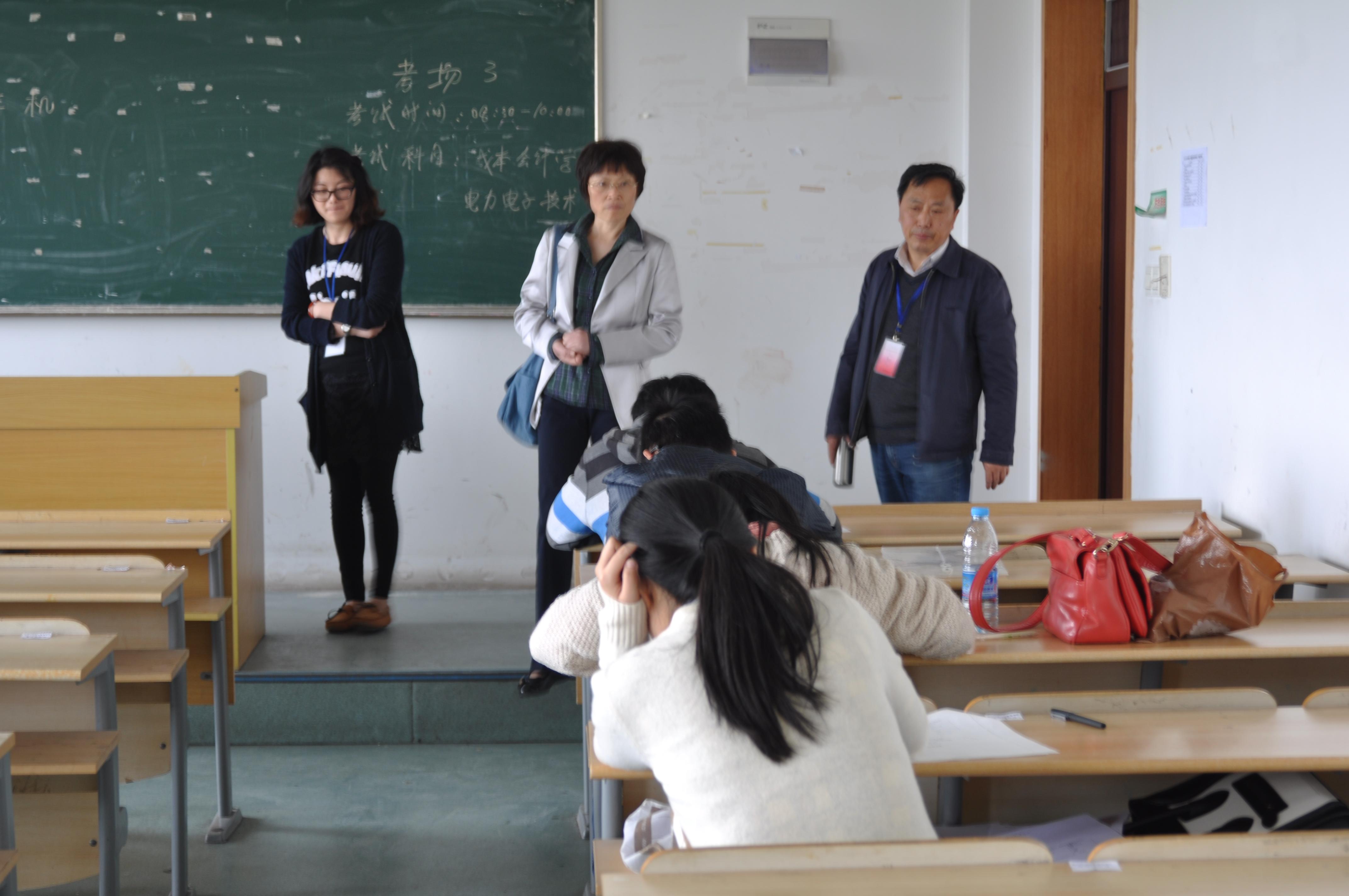 袁方副院长带队赴宁波各学习中心进行巡考和调研